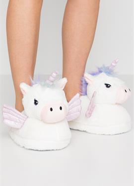 UNICORN HOUSE SLIPPERS - туфли для дома
