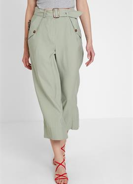 CROP WIDE - брюки