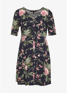 VMSIMPLY EASY BUTTON DRESS - платье