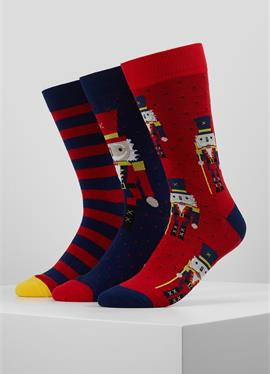 NUTCRACKER SOCKS 3 PACK - носки