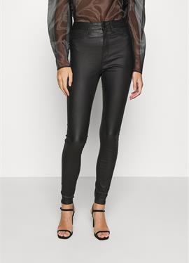 NMCALLIE SKINNY COATED шорты - джинсы Skinny Fit