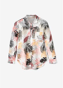 С PERLMUTTKNÖPFEN - блузка рубашечного покроя