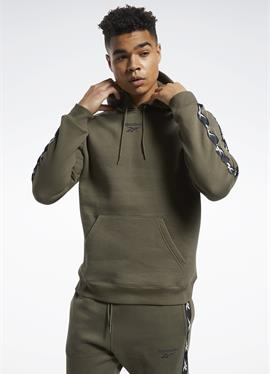 TAPE ESSENTIALS TRAINING - пуловер с капюшоном