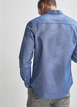 LONG SLEEVE OXFORD стандартный крой - рубашка