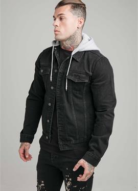 Куртка WITH DETACHABLE HOOD - джинсовая куртка