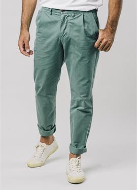 KALE PLEATED - брюки-чинос