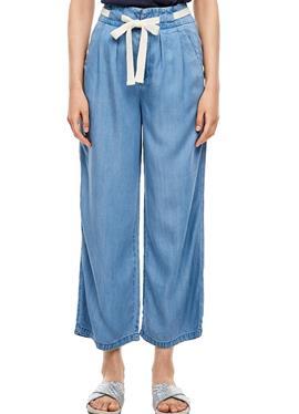 REGULAR FIT: широкие брюки AUS LYOCELL - джинсы Straight Leg