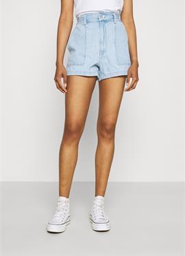HIGH WAIST A LINE - джинсы шорты