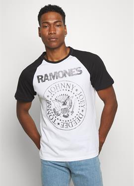 ONSRAMONES FRONT PRINT TEE - футболка print