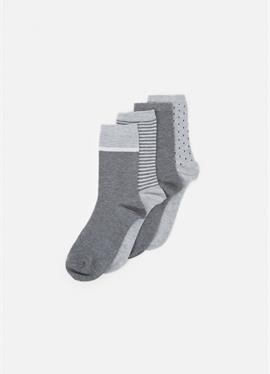 FASHION CREW SOCKS 4 PACK - носки