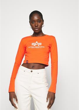 BASIC CROPPED - футболка с длинным рукавом