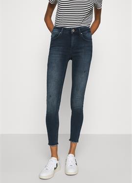 ONLBLUSH LIFE MID RAW - джинсы Skinny Fit