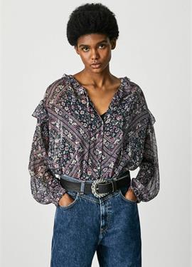 LEXY - блузка рубашечного покроя