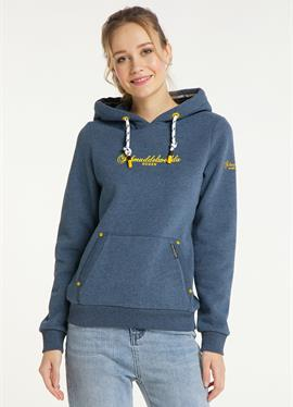 RÜGEN - пуловер с капюшоном