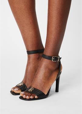TOMMY PADDED HIGH HEELED SANDALS - сандалии на высоком каблуке