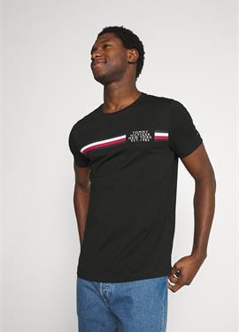 CORP SPLIT TEE - футболка print