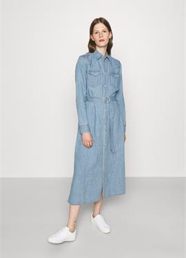 LONG SLEEVE DAY DRESS - джинсовое платье