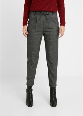ONLPOPTRASH SOFT CHECK PANT - брюки