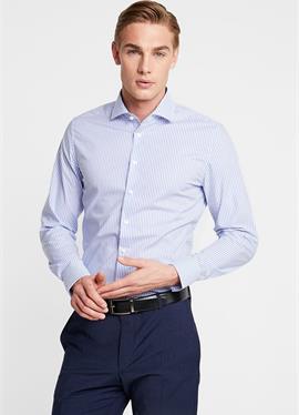 SLIM SPREAD KENT PATCH - рубашка