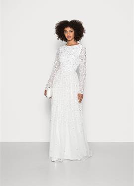 SCOOP BACK ALL OVER EMBELLISHED BRIDAL DRESS - Ballkleid