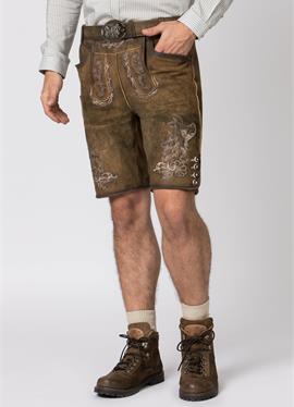 HANS - кожаные брюки