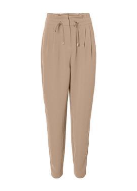 HIGH WAIST PAPERBAG - брюки