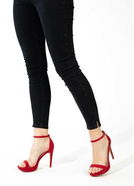 CRYSTAL - сандалии на высоком каблуке