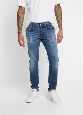 ANBASS HYPERFLEX BIO - джинсы зауженный крой