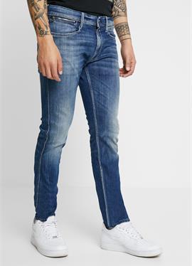 ANBASS COIN ZIP - джинсы зауженный крой
