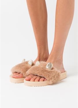 POOL MOUSE METALLIC - туфли для дома