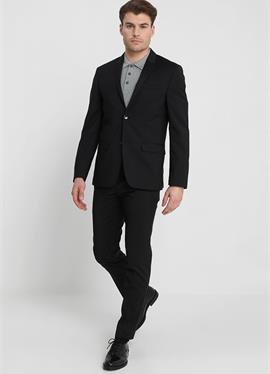 WOOL NATURAL STRETCH FITTED SUIT - костюм