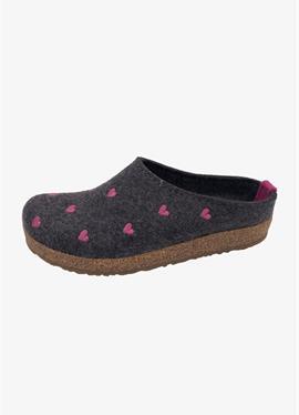 GRIZZLY CUORICINO - туфли для дома