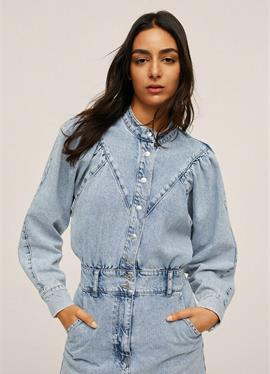 MED PUFFERMER - джинсовое платье