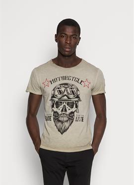 MT BEARDED BIKER - футболка print