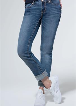 С прямой крой - джинсы зауженный крой