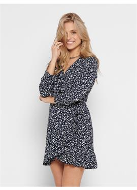 ONLCARLY WRAP SHORT DRESS - платье