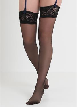 PLAIN LEG TOPPED STOCKINGS - Overkneestrümpfe