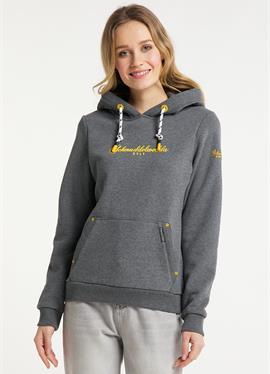 SYLT - пуловер с капюшоном