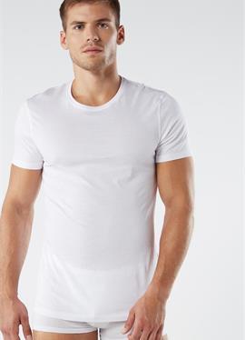 MIT RUNDHALSAUSSCHNITT - Unterhemd/-shirt