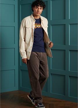 CORE LOGO VINTAGE STRIPE - футболка с длинным рукавом