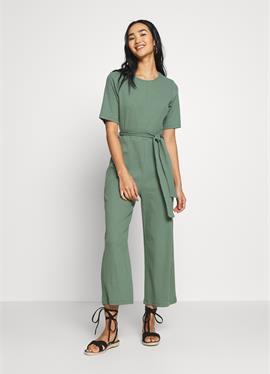BASIC - Ribbed шорты sleeves belted комбинезон - комбинезон
