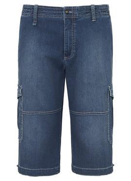 Jeans-Cargo-Bermudas