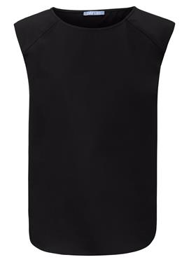Блузка-рубашка без рукавов