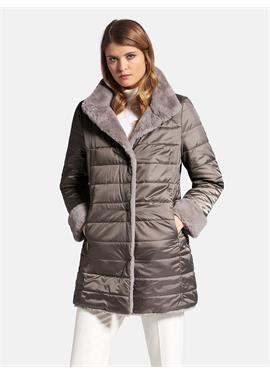 Двусторонняя длинная куртка