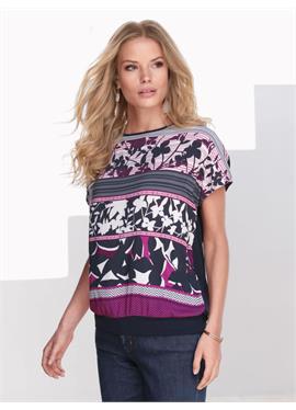 Кофта-блузка с überschnittenem Arm