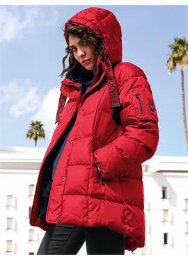 Пуховая стеганая куртка