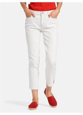 Knöchellange Slim Fit-Jeans