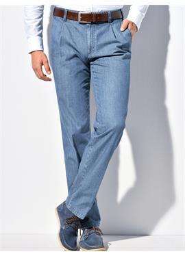 Bundfalten-Jeans Modell Mike