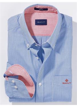 Рубашка с Button-down-Kragen