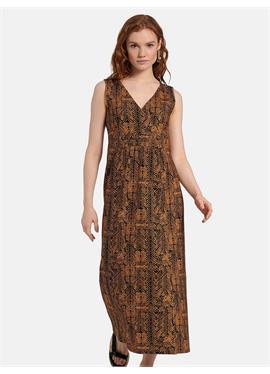 Платье без рукавов из джерси